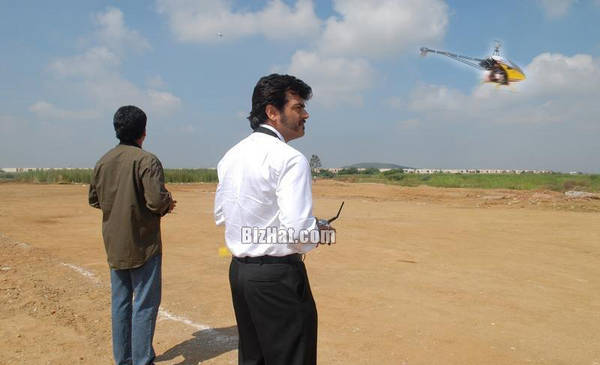 Ajith In His Aero Modelling Workshop Stills