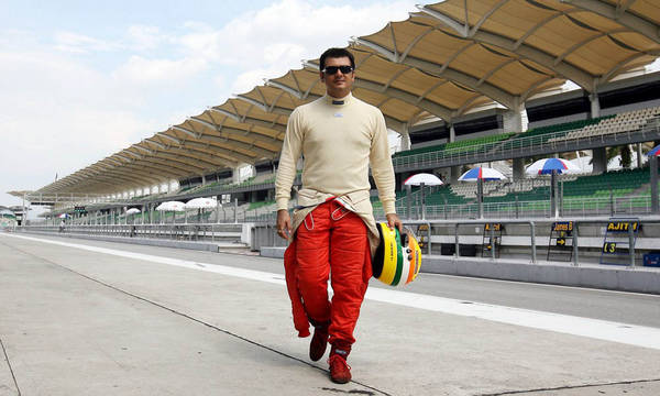 Ajith in race