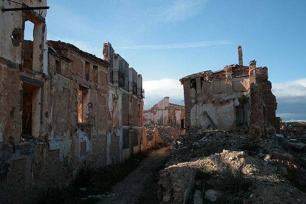 Belchite - Ghost Town in Spain.