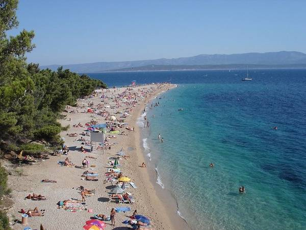 Zlatni Rat, Golden Horn Beach