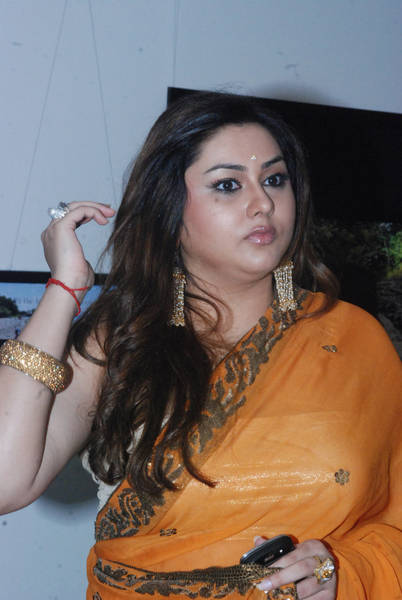 Namitha Cute Saree Photos