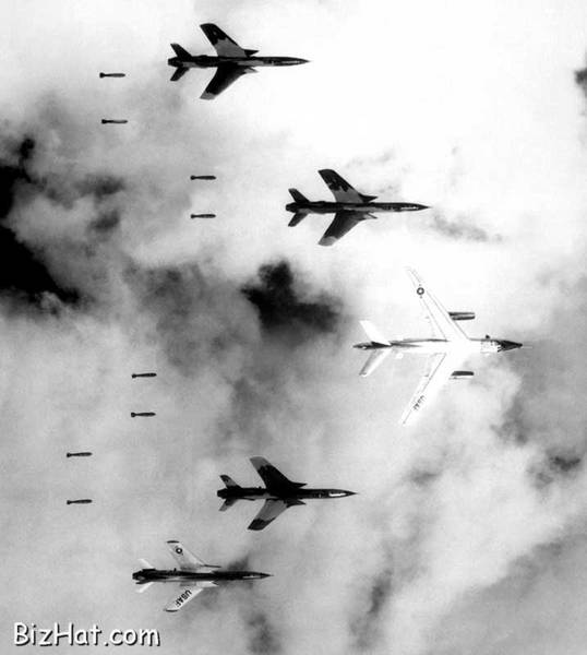 Vietnam Bombing by US